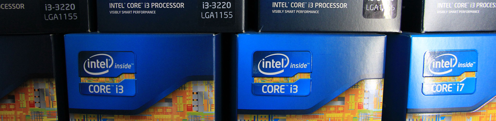 Krachtige Intel processoren